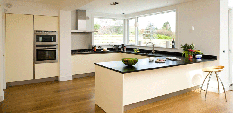The U Shape Kitchen Design Has Become A Popular Choice For Kitchen Layouts.  It Is Most Commonly Suited To Larger Kitchen Spaces. It Is A Perfect Layout  For ...